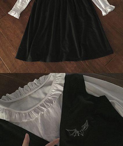 black dress4